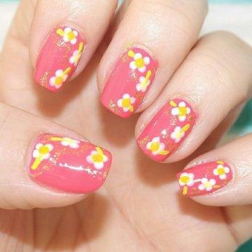 Дизайн ногтей с цветами: модные варианты 2019 с фото