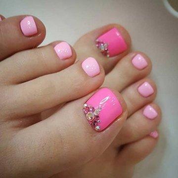 Дизайн Маникюра Розового Цвета
