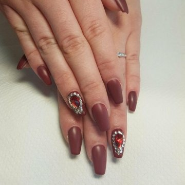 Матовые ногти: модные тенденции и идеи 2018 года
