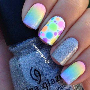 Маникюр омбре, градиентный дизайн ногтей 2020: фото
