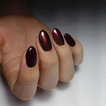 Втирка на ногтях: новинки зеркального маникюра 2019