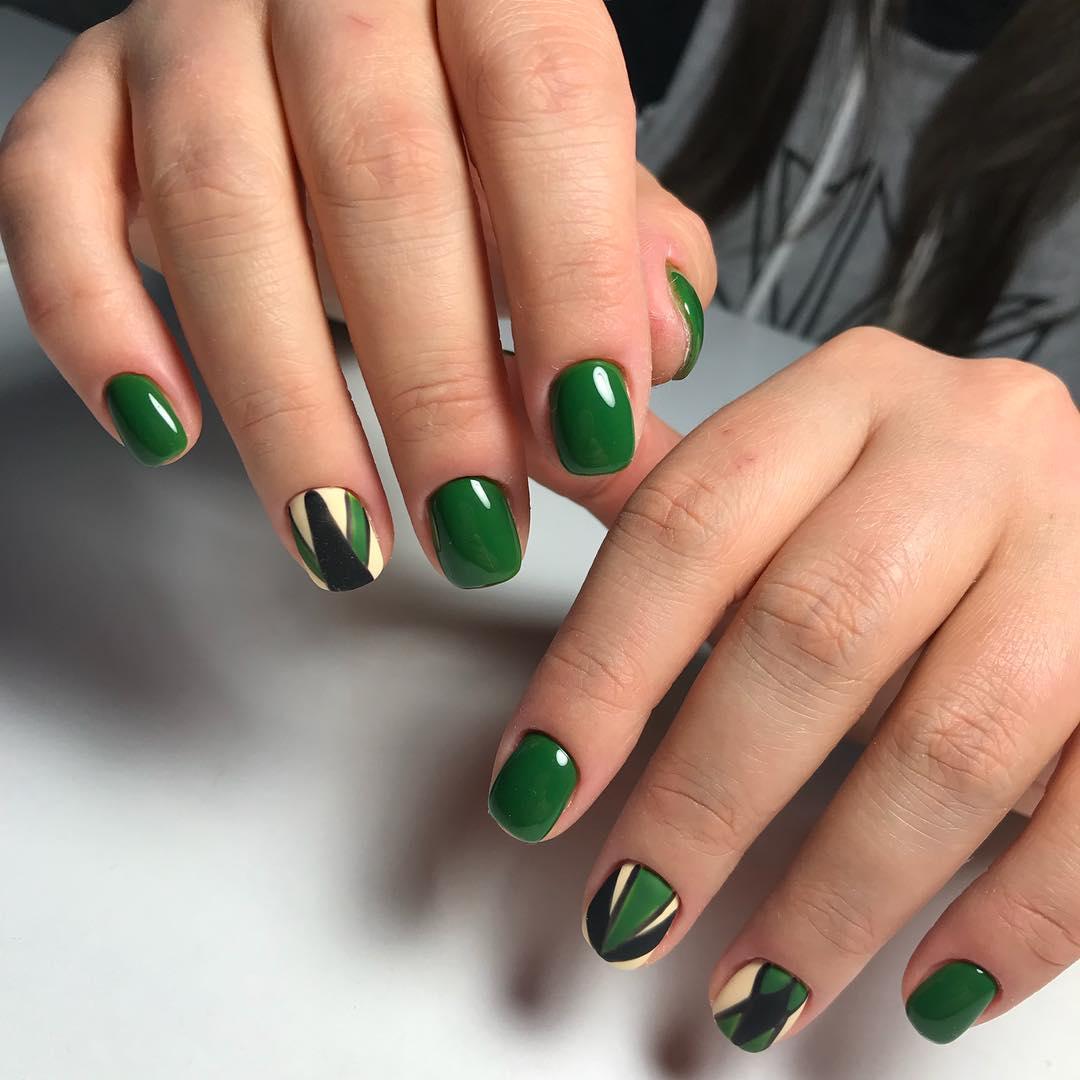 Зеленый Шеллак Дизайн