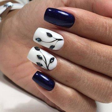 Дизайн квадратных ногтей: фото, модные тенденции 2018