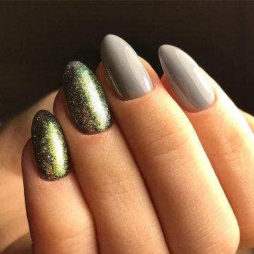 Миндалевидная форма ногтей: фото-новинки 2018