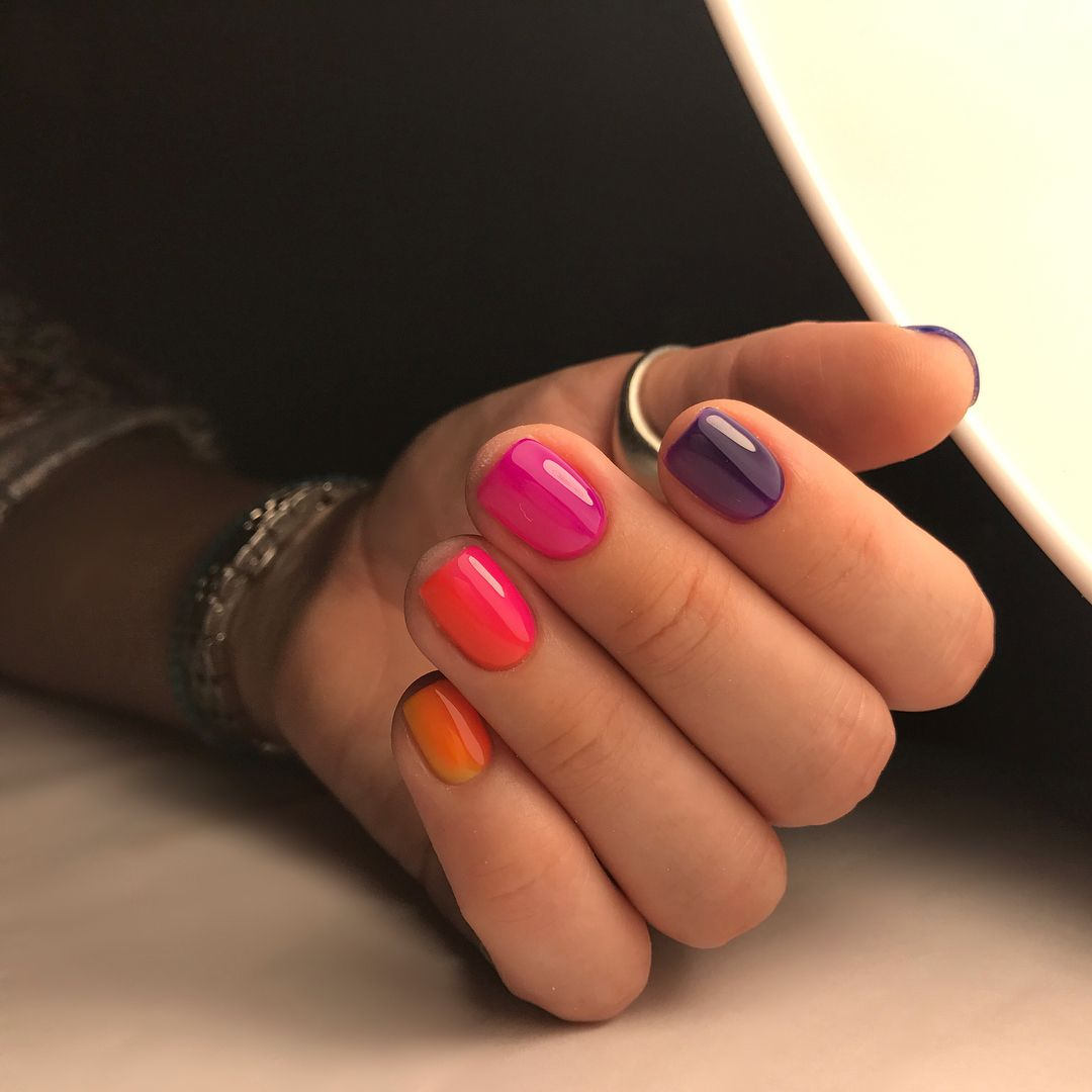 Идеи Маникюра Комбинирование Цветов