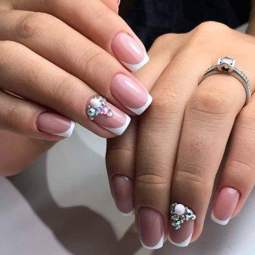 Свадебный маникюр 2019: модные тенденции, фото