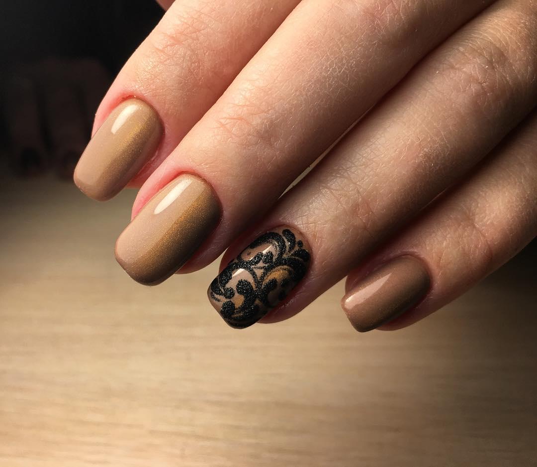 Матовые Ногти Дизайн Фото С Рисунком