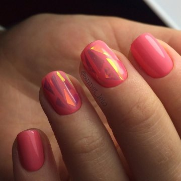 Маникюр на короткие ногти: модные тенденции, фото 2019
