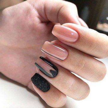 Квадратная форма ногтей: фото-новинки дизайна 2019