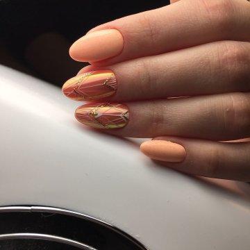 Дизайн нарощенных ногтей: 122 фото-новинки 2019