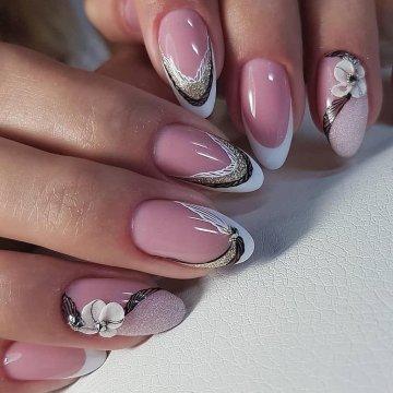 Ногти Фото Шеллак Золотом