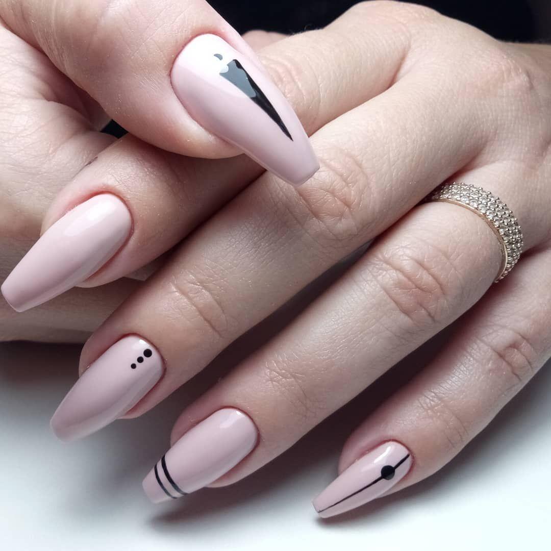 2019 S Biggest Nail Art Trends: Форма ногтей балерина (пуанты): фото маникюра, модный