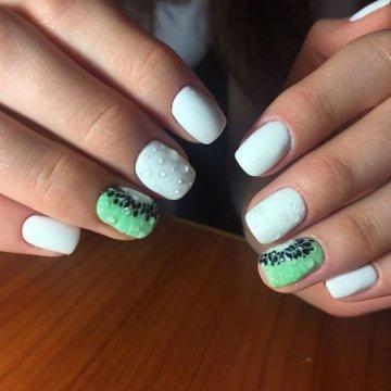 Красивый маникюр с каплями: фото-идеи дизайна ногтей