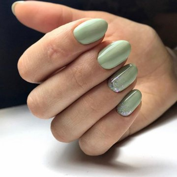 Маникюр на ногти средней длины: фото-идеи 2019-2020