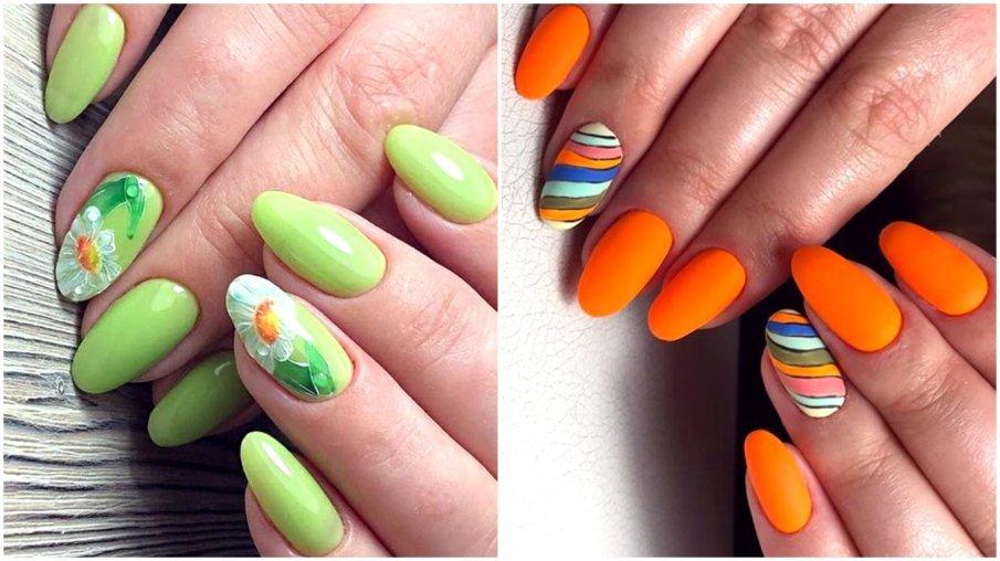 Маникюр лето 2019: дизайн ногтей, модные тенденции (210 фото)