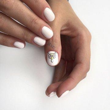 Роскошный маникюр Sweet bloom: модные тенденции, фото 2020