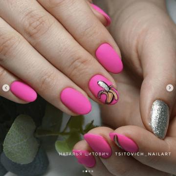 Модный неоновый нейл-дизайн: тренды и новинки маникюра 2020 года